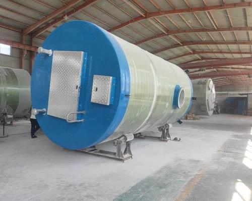牡丹江一体化泵站